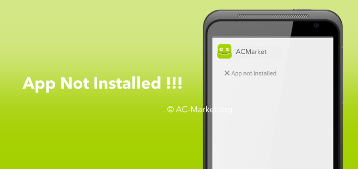 acmarket app not installed