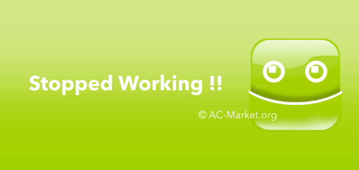 acmarket stopped working