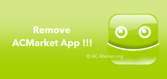 acmarket uninstall