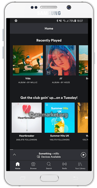 spotify plus android apk
