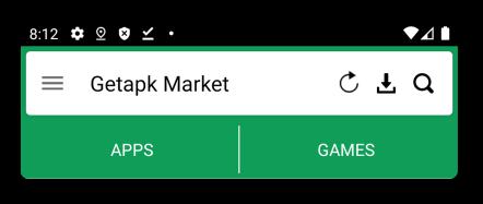 getapk market interface